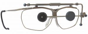Dynamik-Schießbrille mit Irisblende