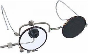 Schießbrille von Jäggi mit Iris (Nachkriegszeit)